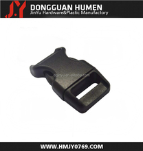 Jinyu high quality plastic harness buckle/colored plastic side release buckle