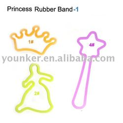 100%Silicone Rubber Bands fit hair accessories,bracelet