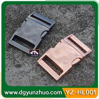 Wholesale metal backpack strap insert buckles for bag