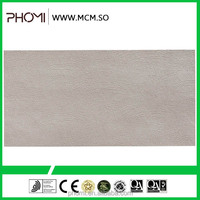 Flexible clay modern house design non-slip leather look unique romantic flexible ceramic floor tile price