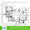 modern design steel prefabricated villa