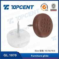 Plastic furniture leveling glides feet for furniture chair sofa