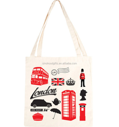 Factory product manufacturer 100 cotton customized silk screen printing eco bag
