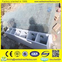 Mink breeding cage,steel wire mesh animal cage