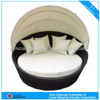 HK-outdoor top quality rattan bed GB-10D