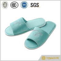 color high quality cheap new hotel slippers