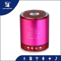 mini sound box speaker with Micro-SD card /USB/Aux-in/FM radio loudspeakers