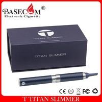 electronic vaporizer pen dry herb vaporizer t titan slimmer open vape pen 7color provide