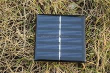 62*120mm 0.75W 3V Mini Solar Panel Epoxy Resin Solar Panel
