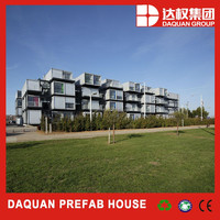 Olympic stadium construction site prebuilt container house/mobile home/container fabrics