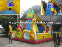 New design giant dragon slide combo park, inflatable fun city combo game for kids