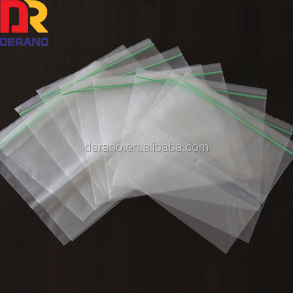 Resealed LDPE Clear Zip Bag