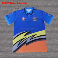 Newest style printed motocross racing wear motorcycle jersey