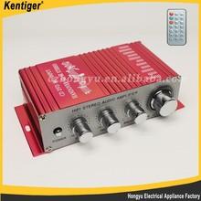 Fashion HiFi 12V mini tube car amplifier