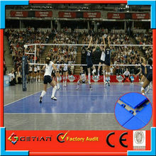 indoor/outdoor portable volleyball court sports flooring surface