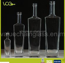 High clear 50ml/500ml/750ml/1L Glass Bottles for spirit( Liquor/Vodka)