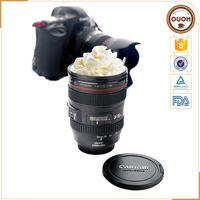 Factory Supply OEM Quality Camera Lens Telescopic Stainless Steel Mug Wholesale