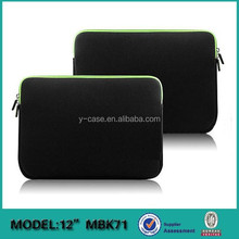 Hot selling neoprene laptop sleeve bag case for Macbook pro 13 inch ,cover for Macbook pro