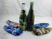 wholesale logo custom bed back beer foam water portable neoprene wine bottle cover
