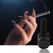 2015 NEW Arrival OEM Fashionable color soak off uv led gel polish cat eye gel nail polish