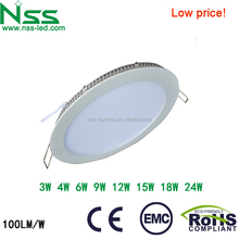 Lowest price in Alibaba 12w ultra slim led panel light for kitchen