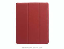 High Quality Genuine leather flip mobile phone case for ipad 2 3 4