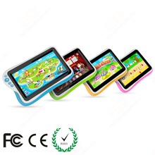 7 inch tablet android 4.0 child pad with rubber case