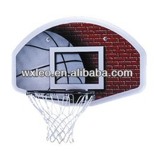 Wall Mounting Backboard System,backboard with official size metal ring