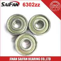 6302 Bearing 15*42*13mm Deep Groove Ball Bearing 6302ZZ