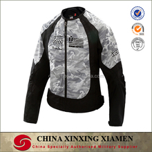 Wholesales New Pro Winter Camo Windproof Polyester and Nylon Motorcycle Racing jacket