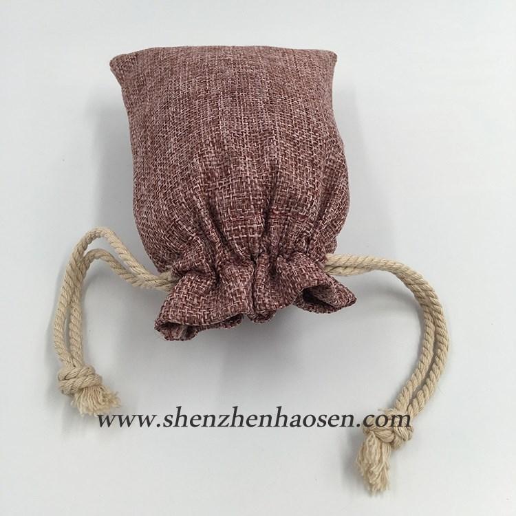 Wholesale Natural Brown Drawstring Tesco Jute Bags For