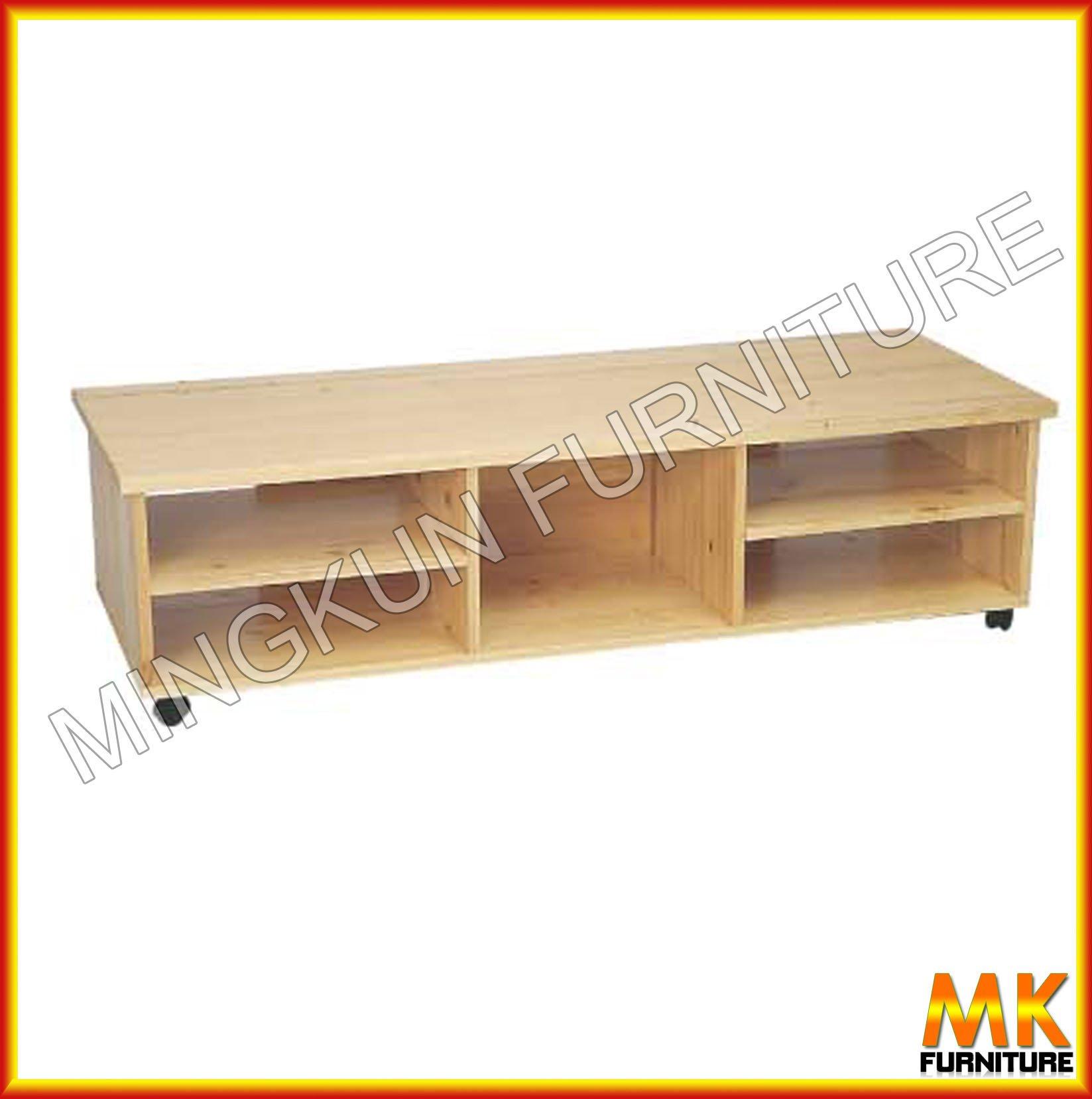 Televisi n soporte de madera de abedul de madera muebles - Madera de abedul ...