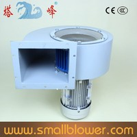 3KW china Strong industrial blower 380v high pressure centrifugal high speed cooling fan