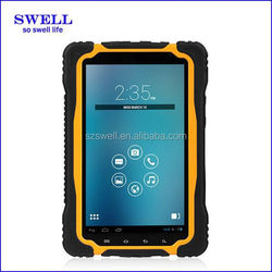 fashional ip67 7inch IPS tough tablet NFC MTK6589 Quad core with 3G, WIFI TP70