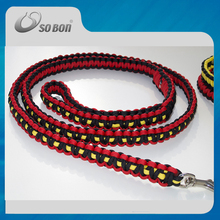 Sport camping paracord dog collars and leashes wholesale