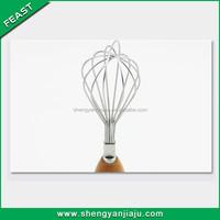 South Korea kitchen utensil wooden hand egg breaker