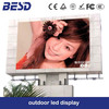 Hotsale full color P10 P16 rgb led outdoor tv billboard electronic led display panel signs digital billboards