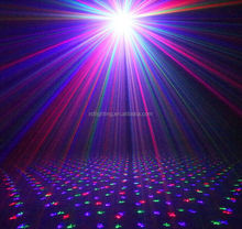 Multifunctional mini Portable Red&Green&Blue Meteor Laser stage Lighting Show System