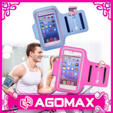 Top quality multifunctional velcro cellphone armband for iphone
