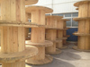 Hot Sale Best quality pine Wooden cable wire spool wooden cable drum