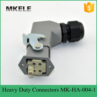 high quality 4 pin 10A 250V HA series heavy duty connector,heavy duty connector block,automotive connectors