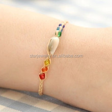 National scenic area the night market accessories wholesale Wish lucky grass grass love shell beads hand rope bracelet