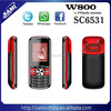 Latest China low price Bar mobile phone w800 support Facebook