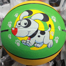 cheap rubber mini basketball customized