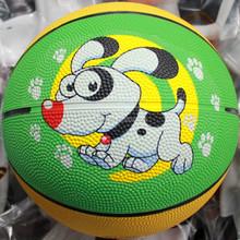 cheap rubber mini basketball customized
