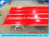 Color glazed steel sheet roofing/step tile for construction materials