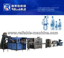 Complete pura planta embotelladora de agua/agua línea de producción