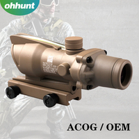 Hunting accessories Trijicon Acog Illuminated red dot sight hunting riflescopes