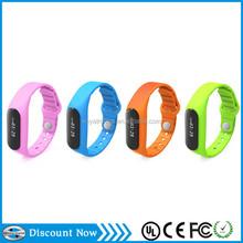 "Popular 0.69"" OLED Touch Operated Smart Bracelet Bluetooth 4.0 bracelet E06"