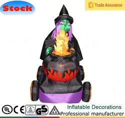 DJ-130 5ft hot inflatable Halloween ditch witch dolls hazel skin care costume dolls